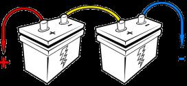 انواع روشهای اتصال باتریها